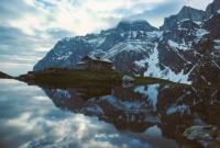 Fridolinshütte am Fusse des Tödi (GL) (copyright SGS)