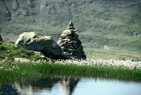 Steinformation mit Scheuchzerschem Wollgras (copyright SGS)